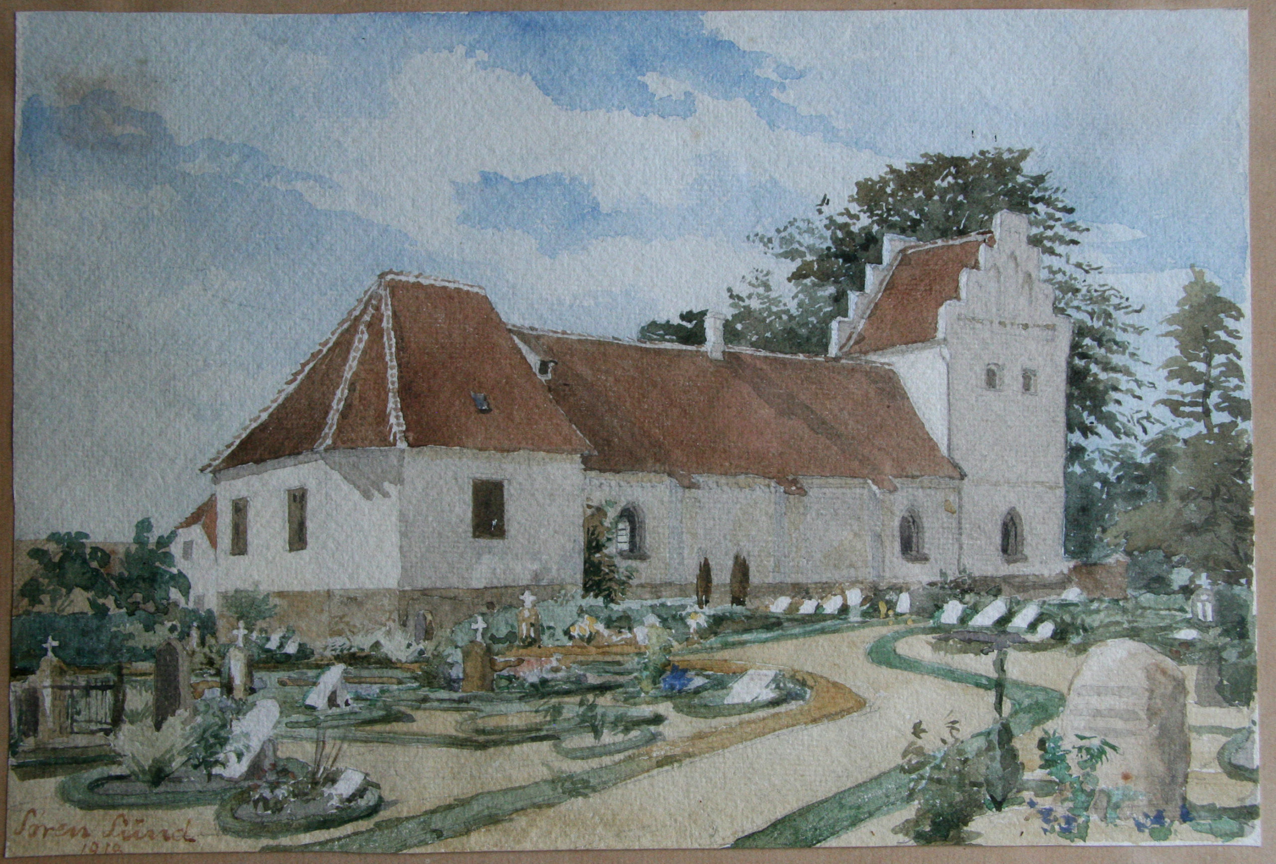 Kirken fra nordøst