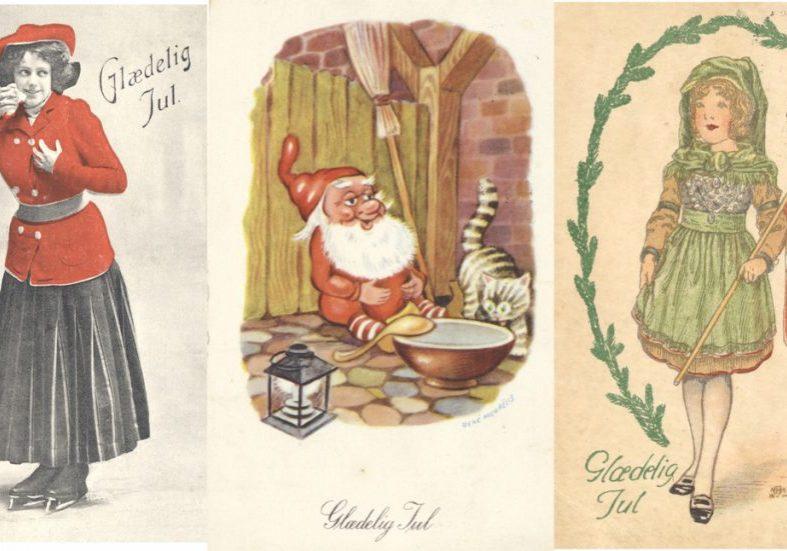 Tre julekort